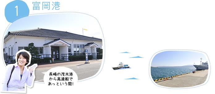 1.富岡港